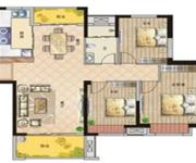 高层三室两厅一卫