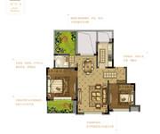 花园洋房F  两室两厅一卫
