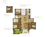 花园洋房C  三室两厅两卫
