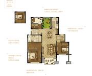 花园洋房B  三室两厅两卫