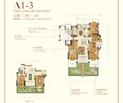 花园洋房A1-3 六室三厅三卫