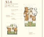 花园洋房A1-6 六室四厅三卫
