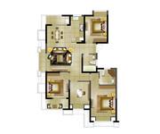 高层A三室两厅两卫