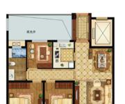 高层A1三室两厅一卫