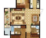 高层B三室两厅两卫