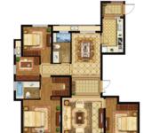 高层E四室两厅两卫