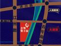 金领·聚丰园  梅兰西街交通图