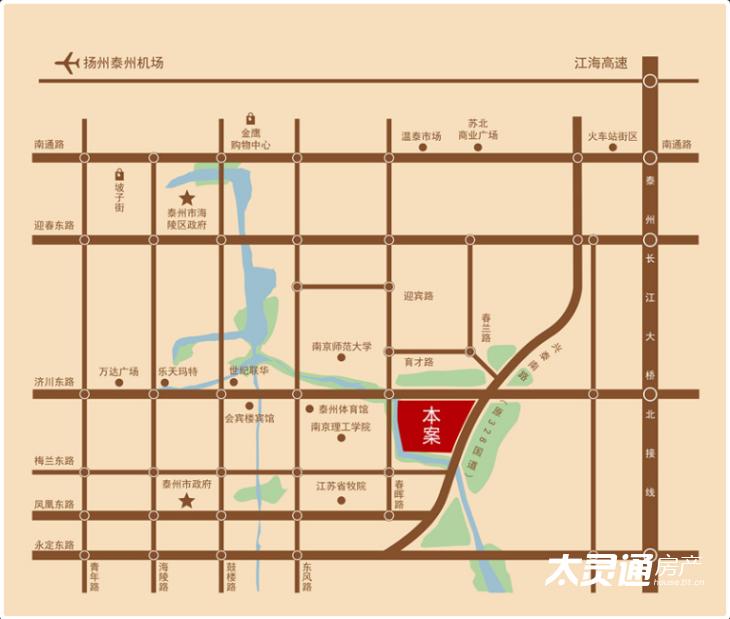中铁·溪源交通图