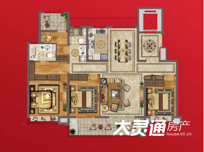5# 四室两厅两卫