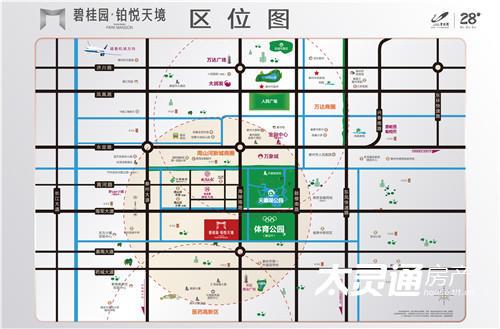 碧桂园·铂悦天境交通图